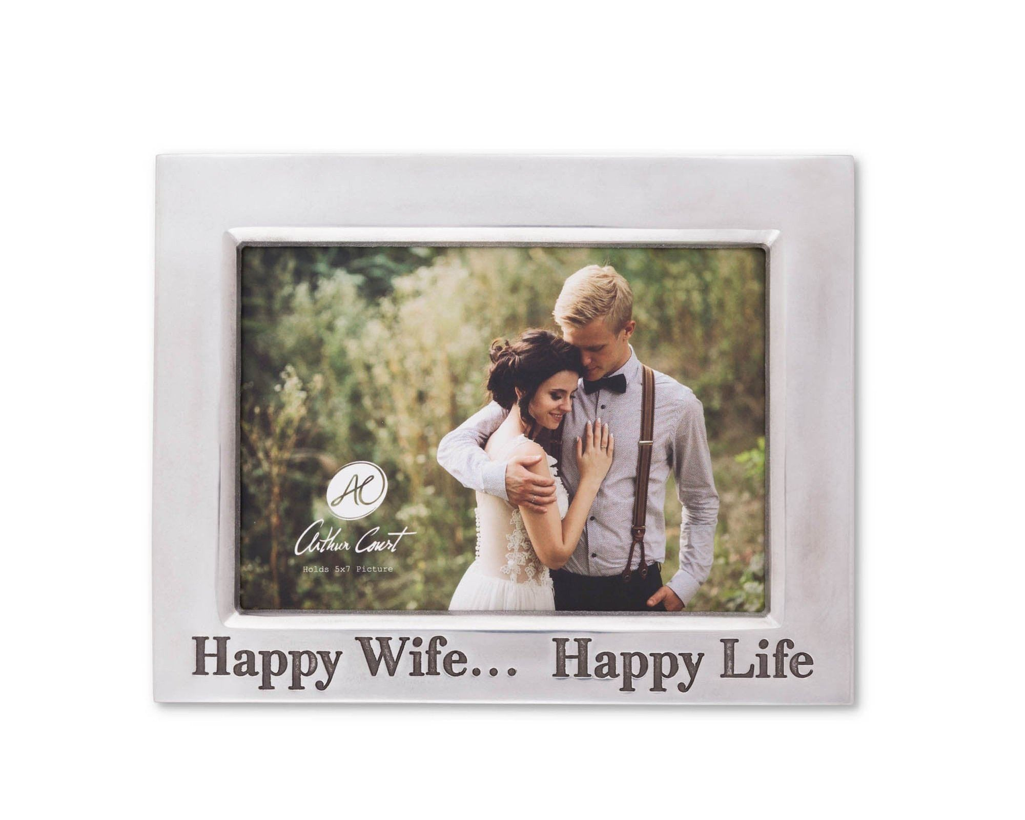 Happy Wife 5X7 Classic Frame