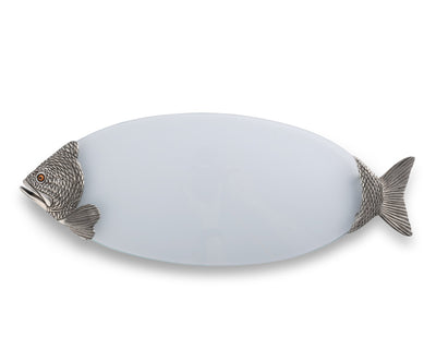 Glass Fish Tray