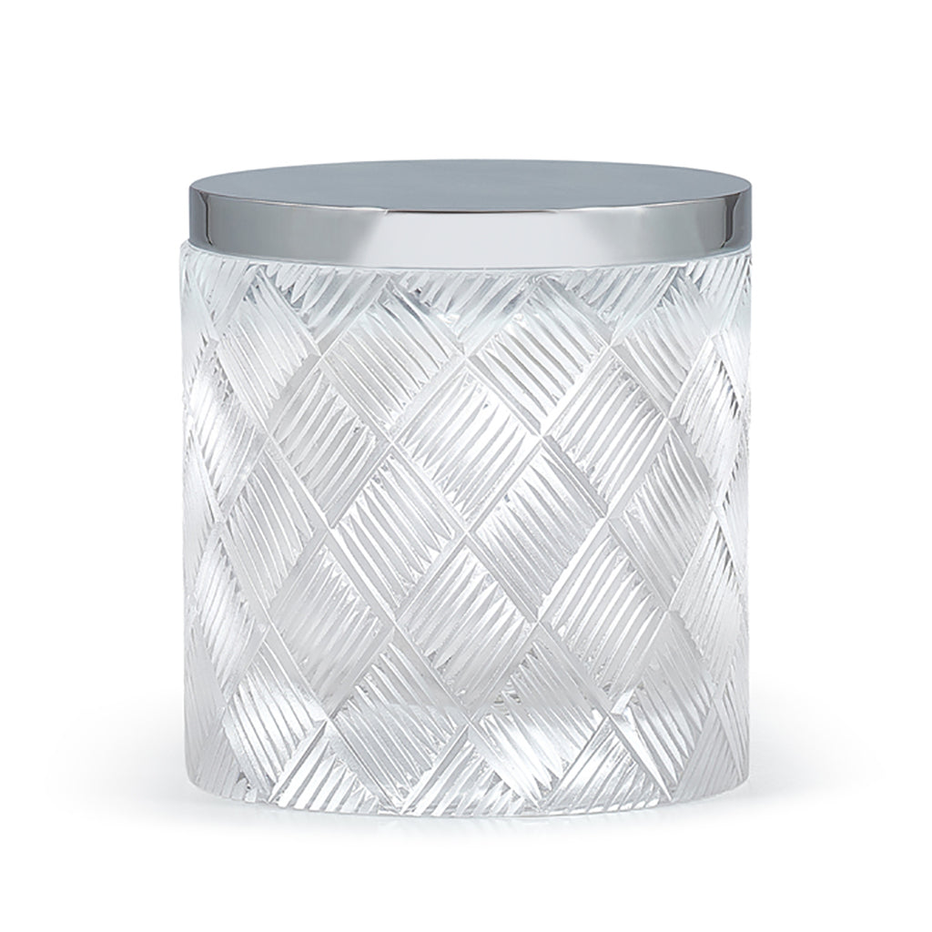 Basketweave Canister