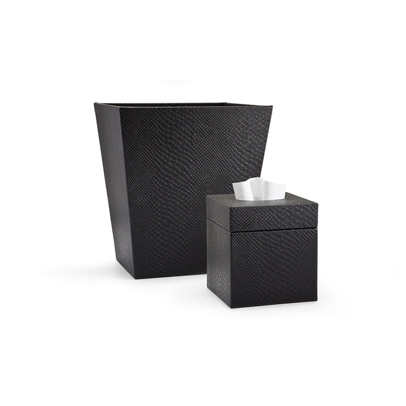 Conda Black Towel Tray
