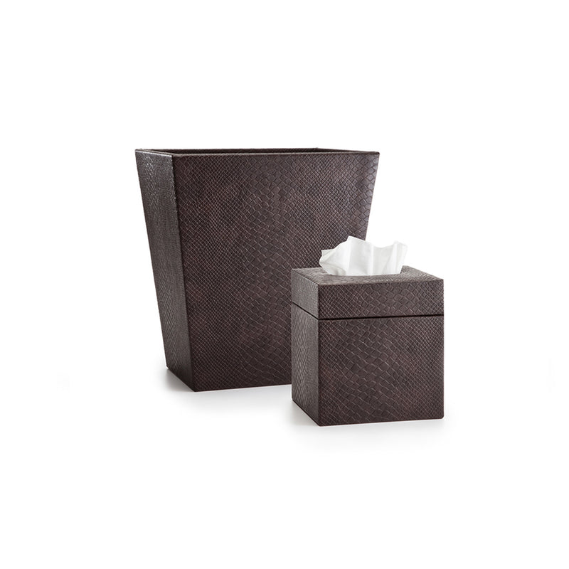 Conda Brown Towel Tray