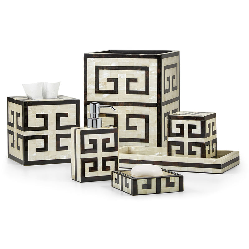 Greek Key Soap Dish