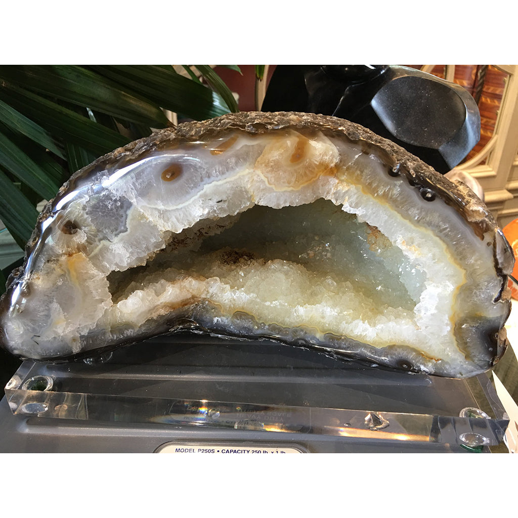 Geode Crystal Accessory mounted on Acrylic Base