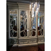 Habersham East Hampton Mirrored Door Cabinet