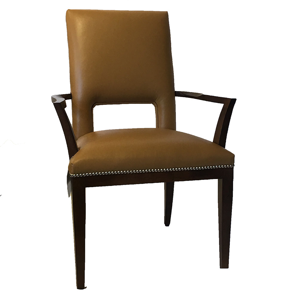 Modern Dining Chair Leather