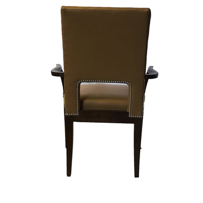 Mid Century Modern Dining Chair Leather