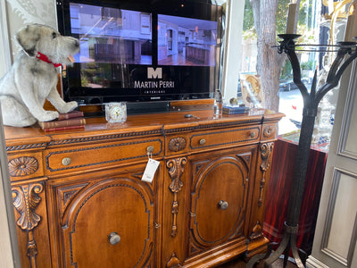 TV Lift Cabinet -SALE!  16th Century Italian Walnut
