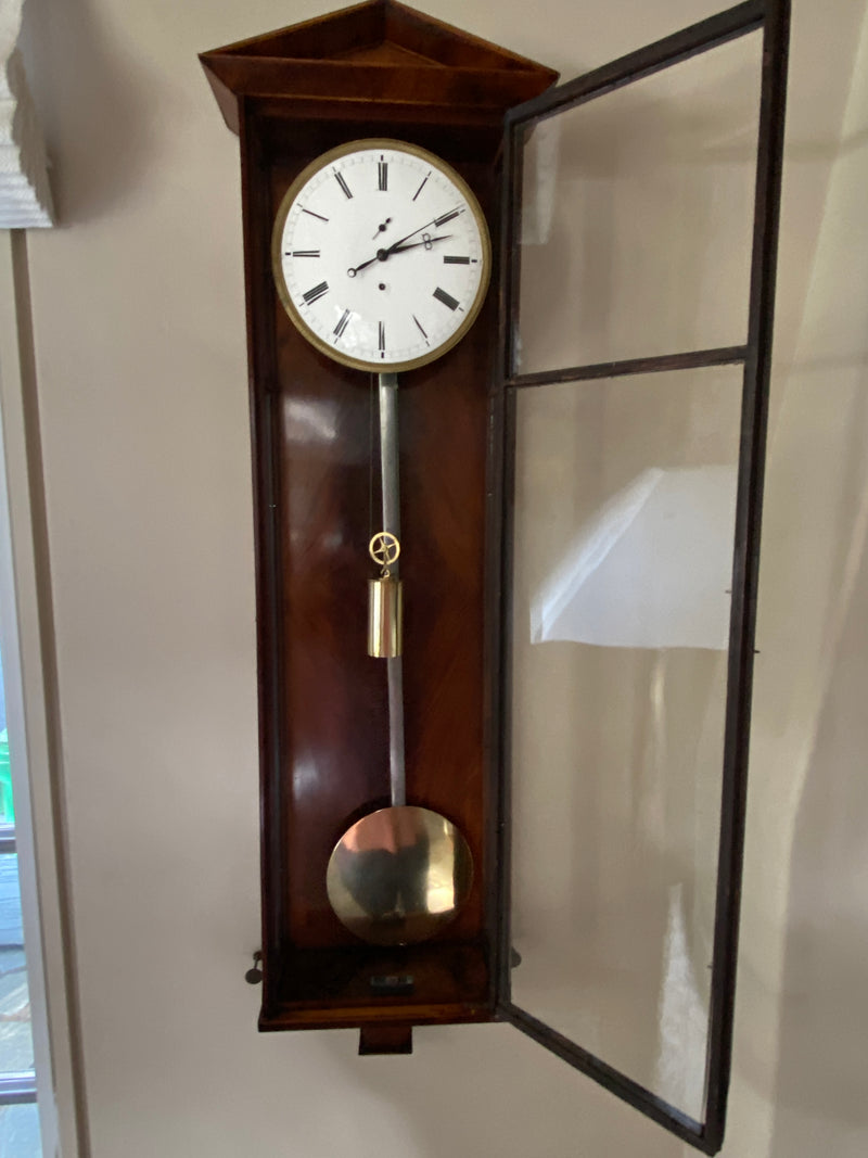 Dachluhr Biedermeier Vienna Regulator Clock