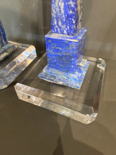 Lapis Blue Minature Obelisks