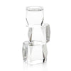 Crystal Cubist Candle holder