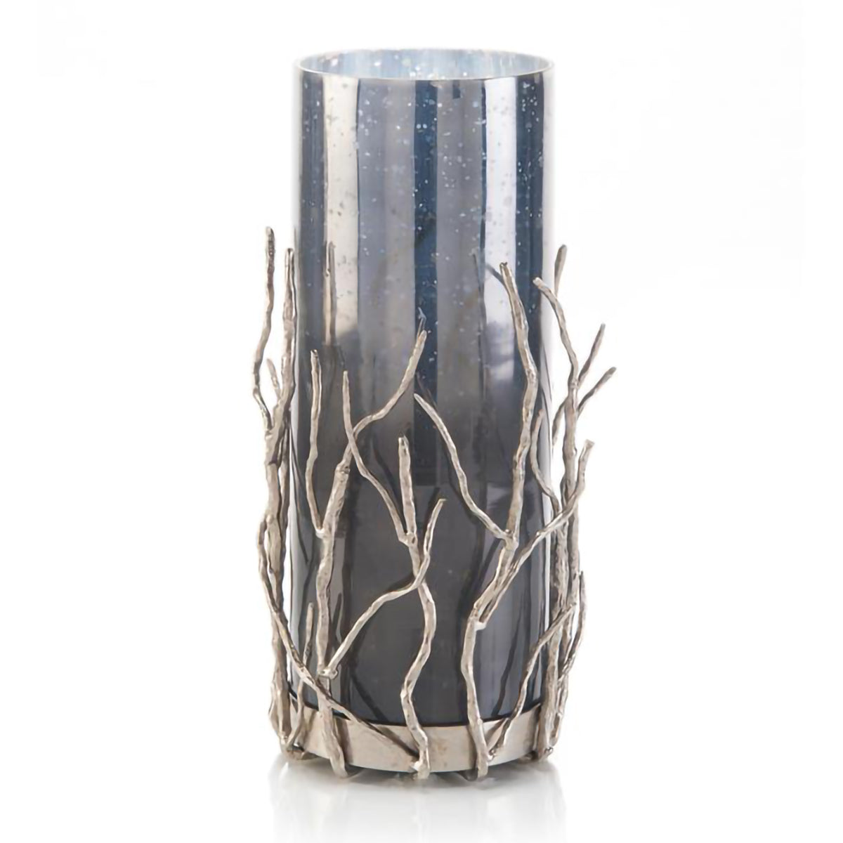 Nickel Sapling Candle Holder