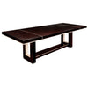 Dining Table, High Gloss Macassar Ebony with Contrast Lacquered Accents