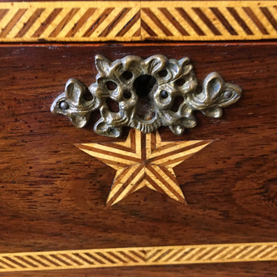 antique inlay box