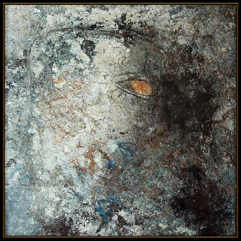 Jamali Art, Title Original Happy Face Fresco Tempura