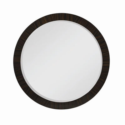 Martin Perri Interiors: 55E-233 - OMNI MIRROR Ebony Finished Matched Veneer Mirror Large