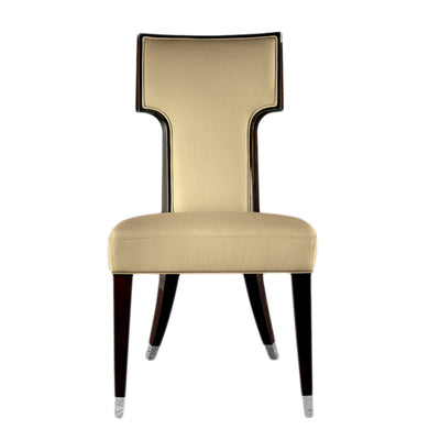 Giorgio High Gloss Macassar Ebony Dining Chair