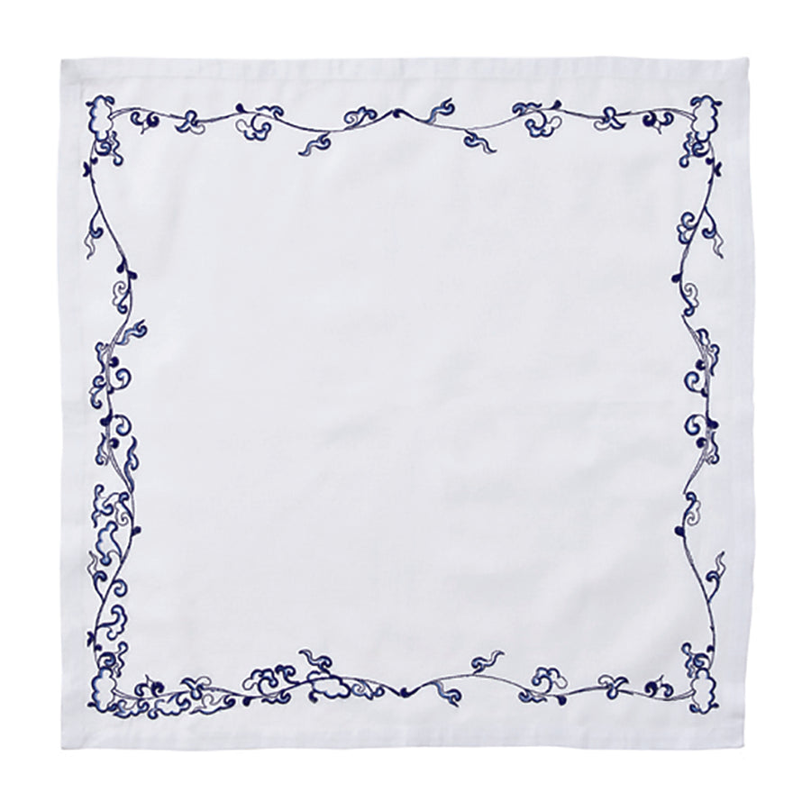 Set of 4 Ming Border Napkin