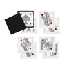 Set of 8 House of Cards Cocktail Napkins