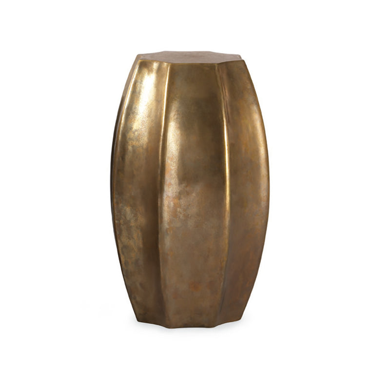 organic form Bronze side Table