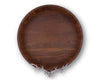 Elk Head Teak Tray