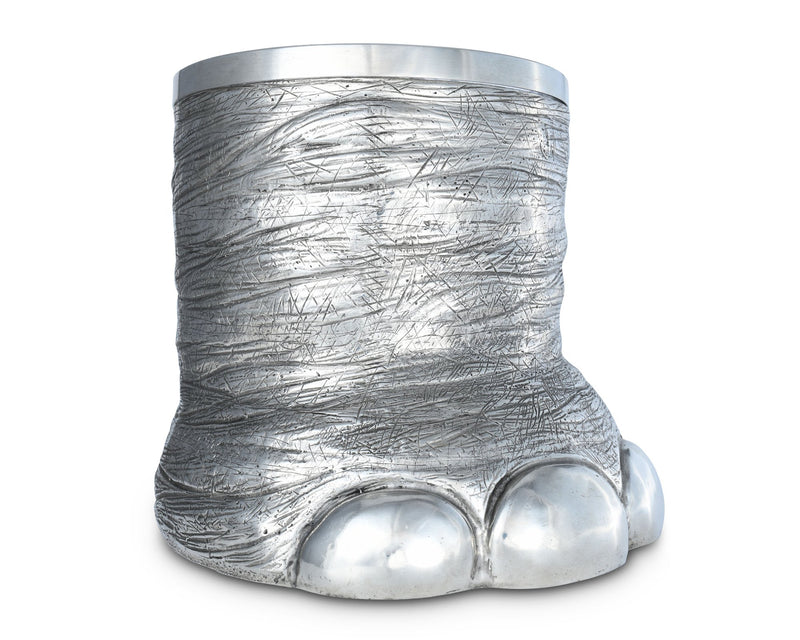 Pewter Elephant Foot Ice Bucket