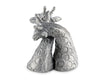 Pewter Giraffes Salt & Pepper Set