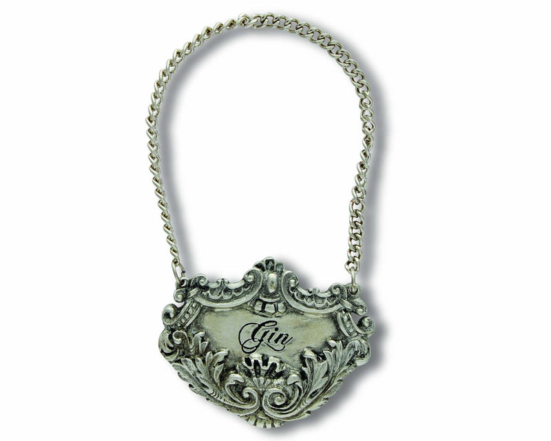 Pewter Medici Decanter Tags