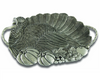 Pewter Turkey Serving Tray
