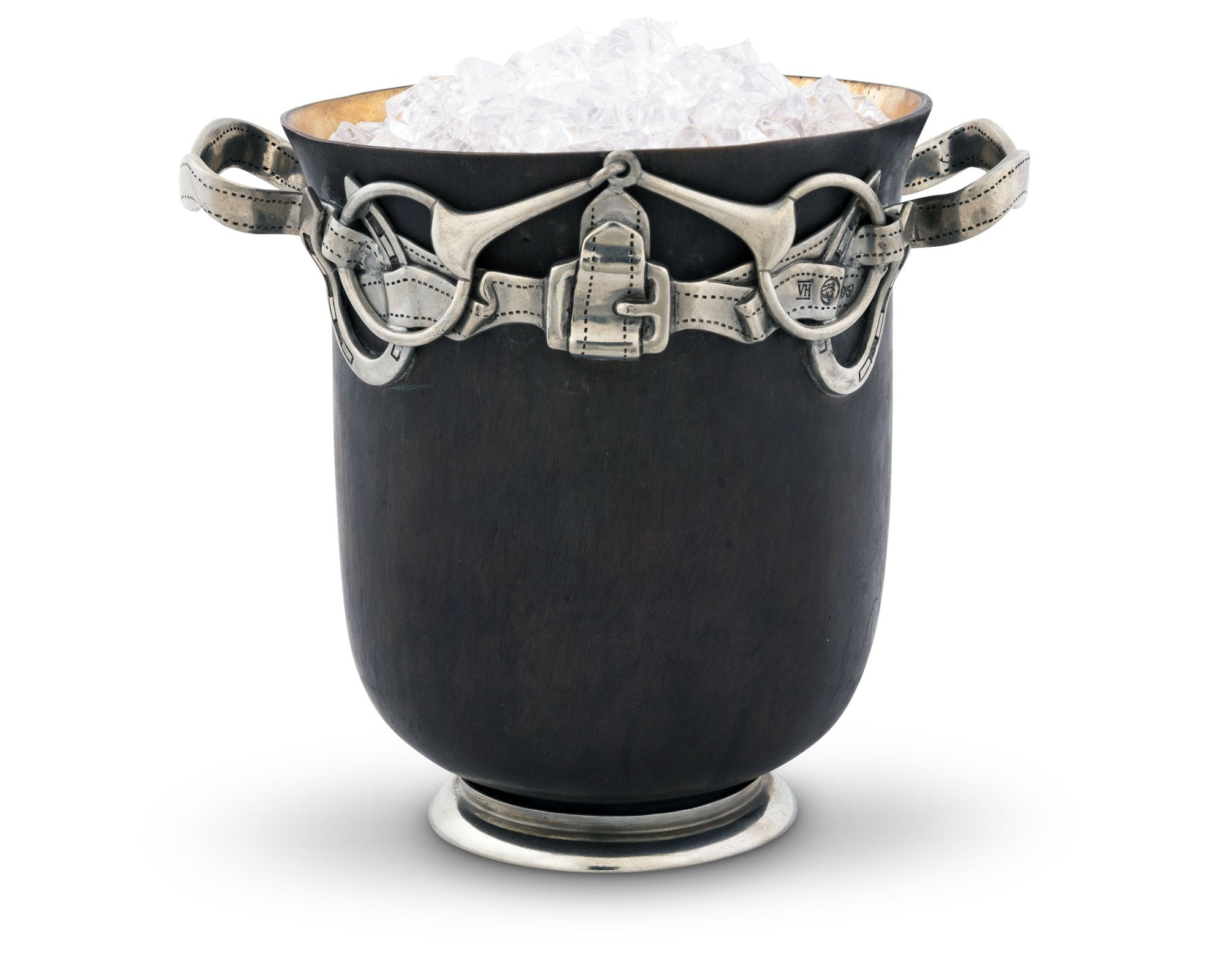 Equestrian Bronze Ice Bucket