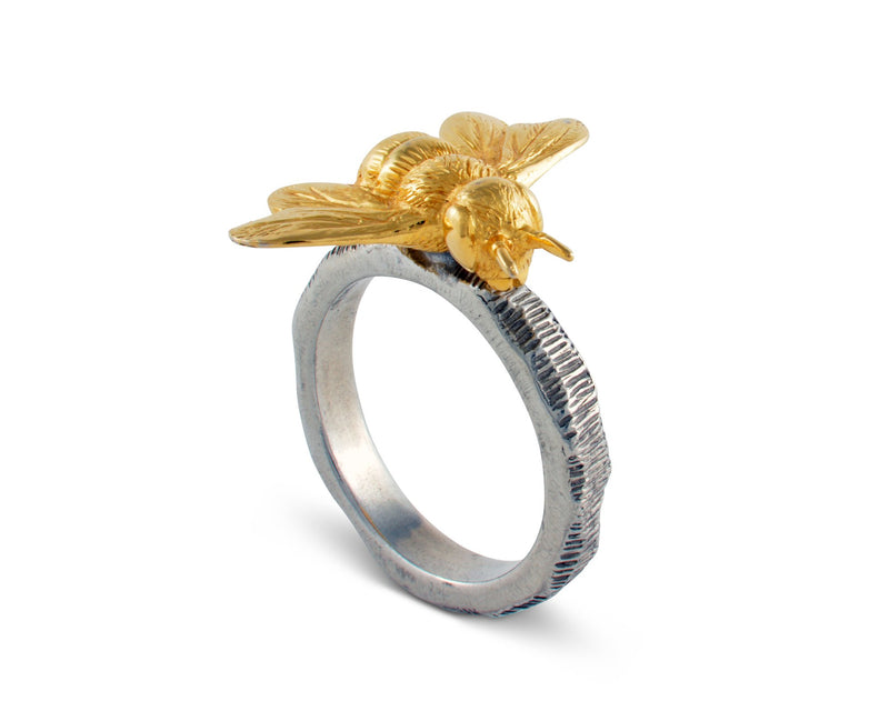 Gold Bee Napkin Ring