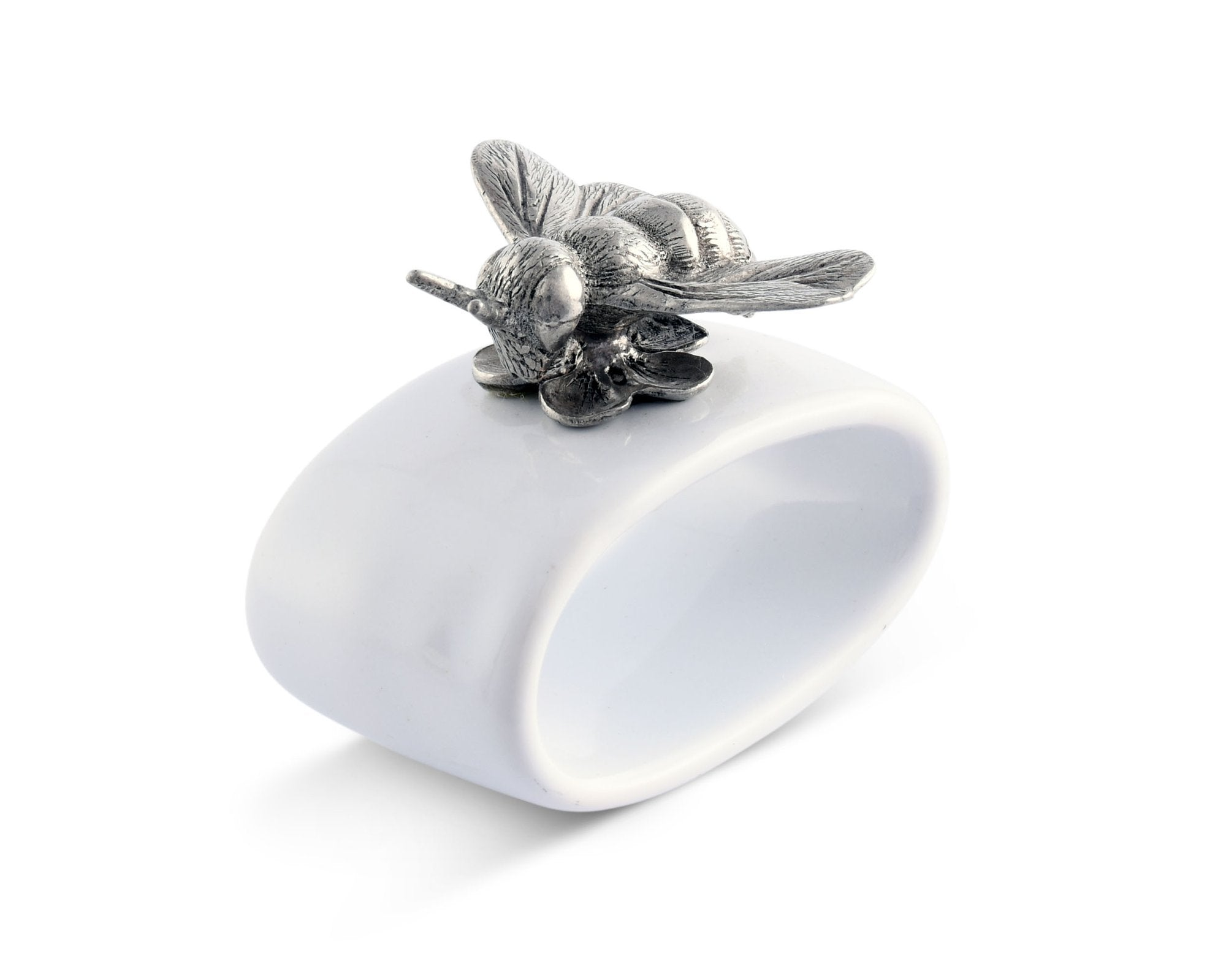 Bee Stoneware Napkin Ring