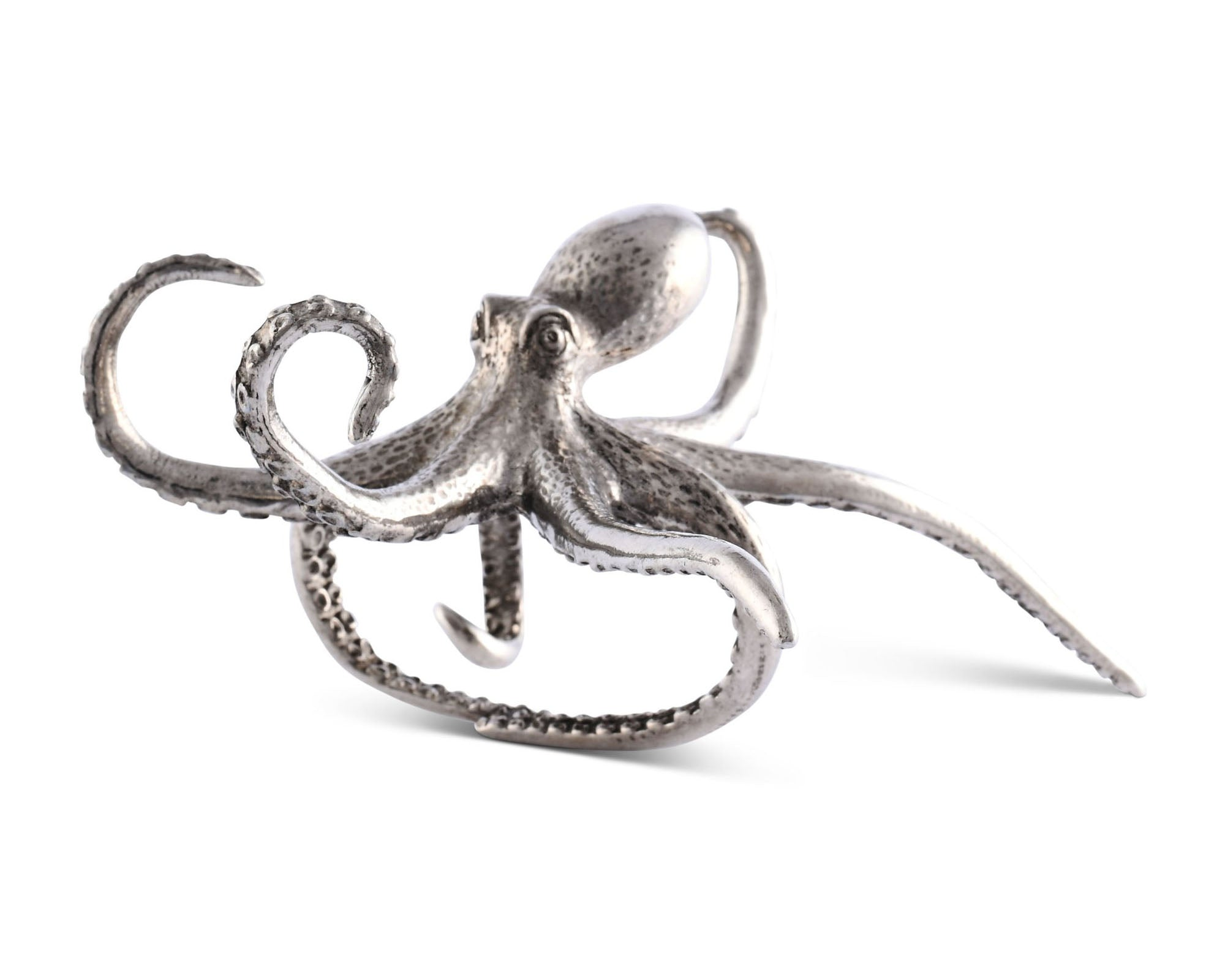 Pewter Octopus Napkin Ring