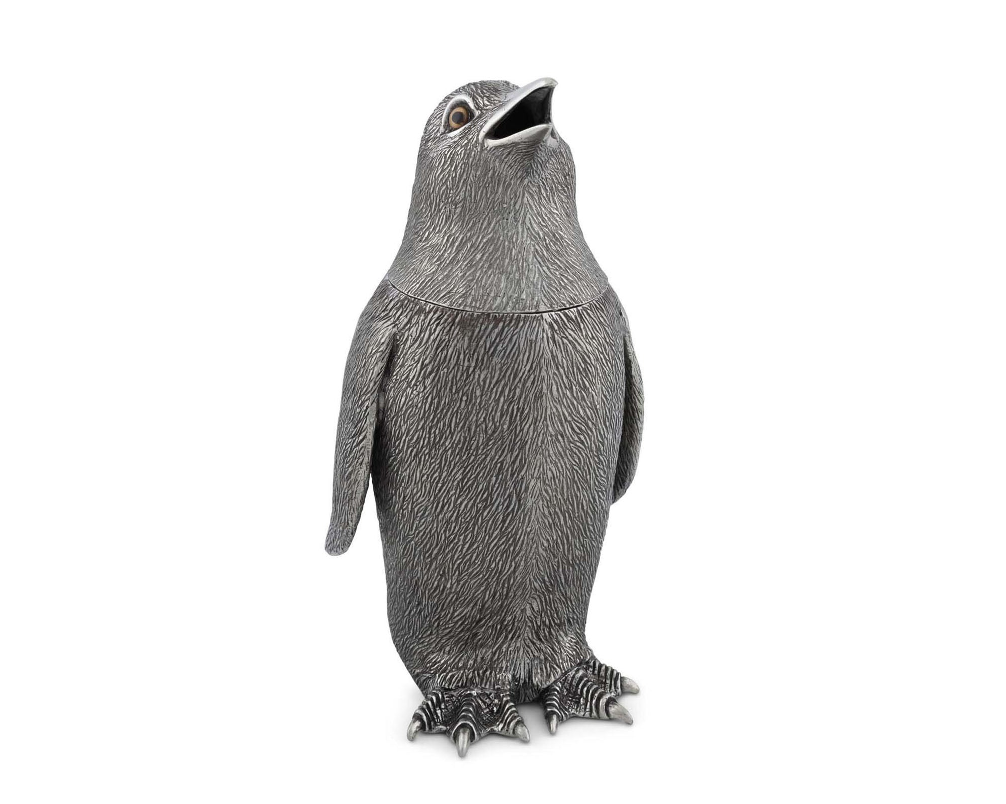 Pewter Penguin Shaker