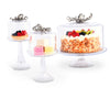 Octopus Glass Covered Cake/Dessert Stand