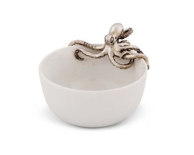 Octopus Stoneware Bowl Small