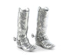Pewter Cowboy Boot Salt & Pepper Set