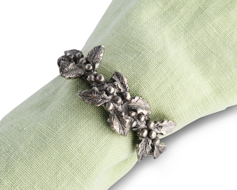 Holly Napkin Ring