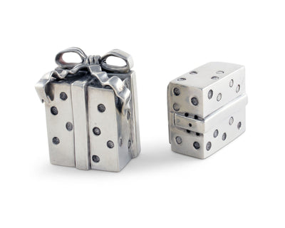 Christmas Package Salt And Pepper