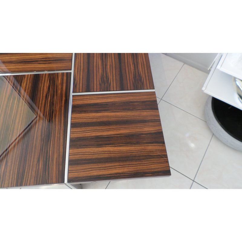 Macassar Ebony Cocktail Table Excellent vinitage Condition