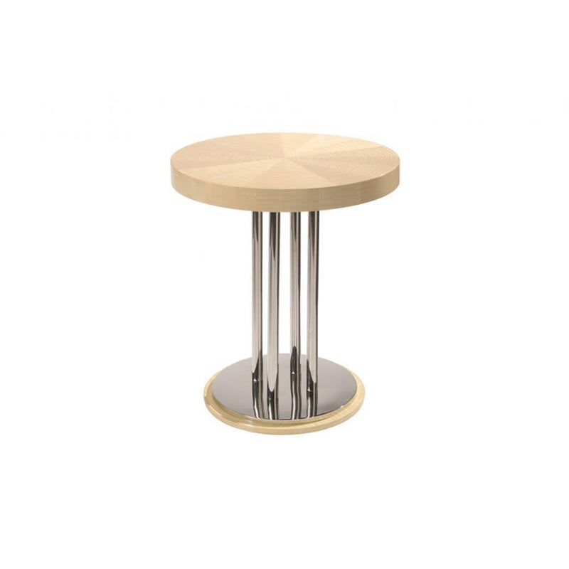Dakota Jackson Occassional Table with Polished Stainles Steel