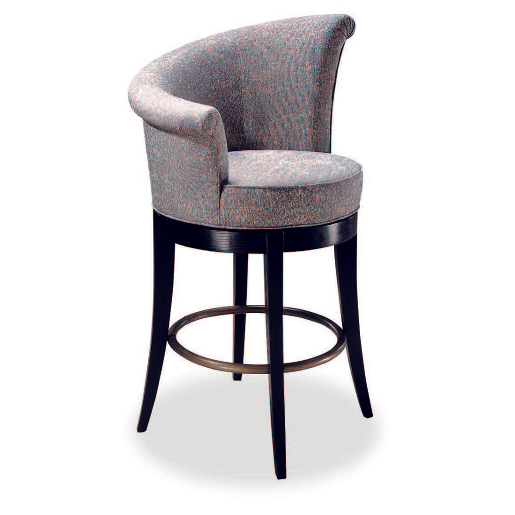 Buena Vista High Arm Swivel Bar Stool