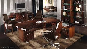 Desk Macassar Ebony Desk with Zebra and sycamore High Gloss