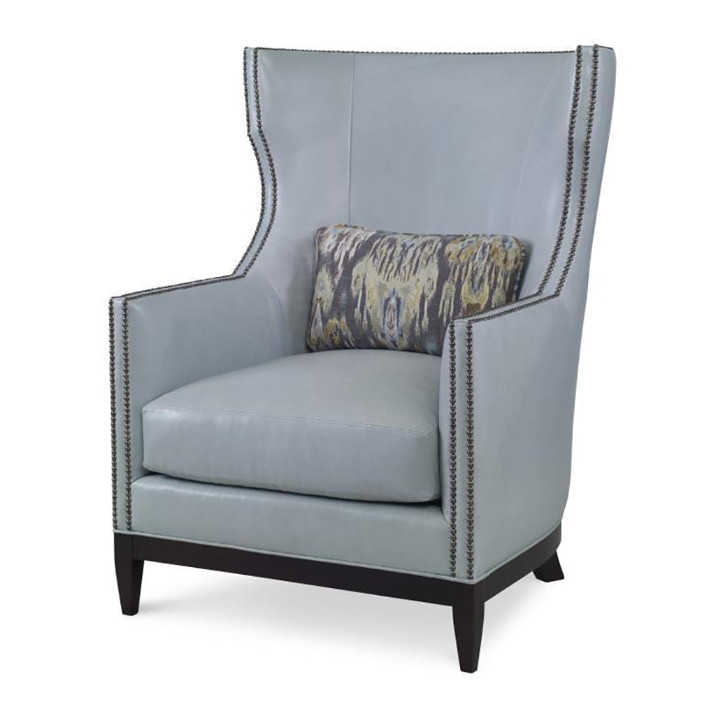 High Back Contemporary/Modern Wing Chair