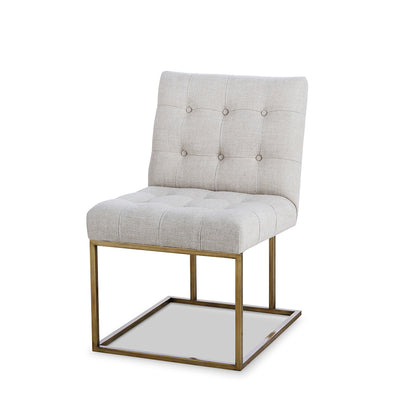 Century MN5379S , Modern Side Chair metal