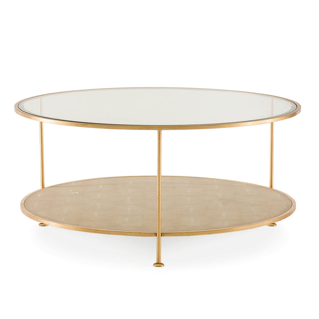 Adele Round Cocktail Table