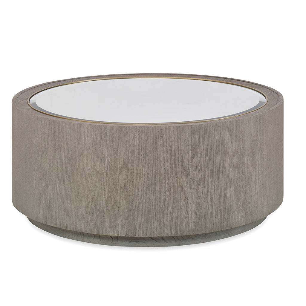 Century Furniture MN5670, Modern round Coffee Table