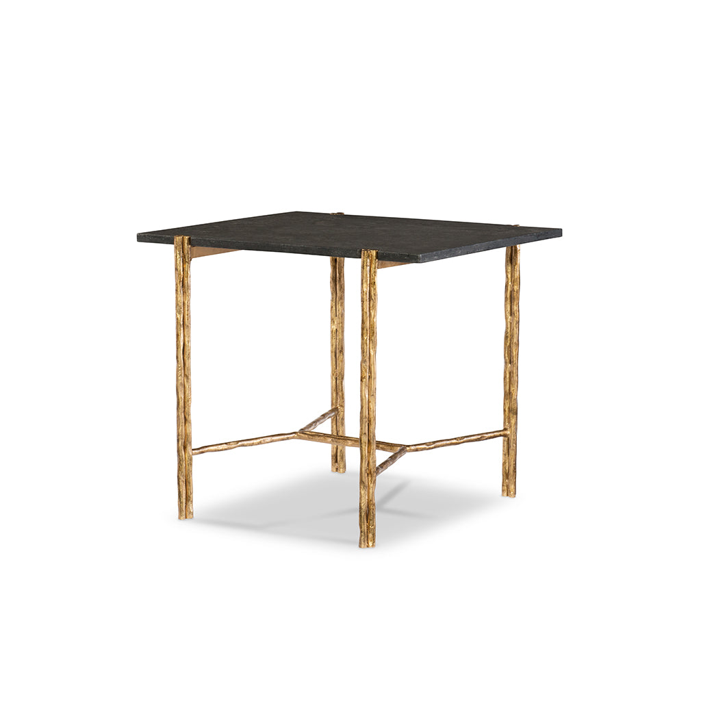 Century Furniutre SF5757, Antique Bronze End Table