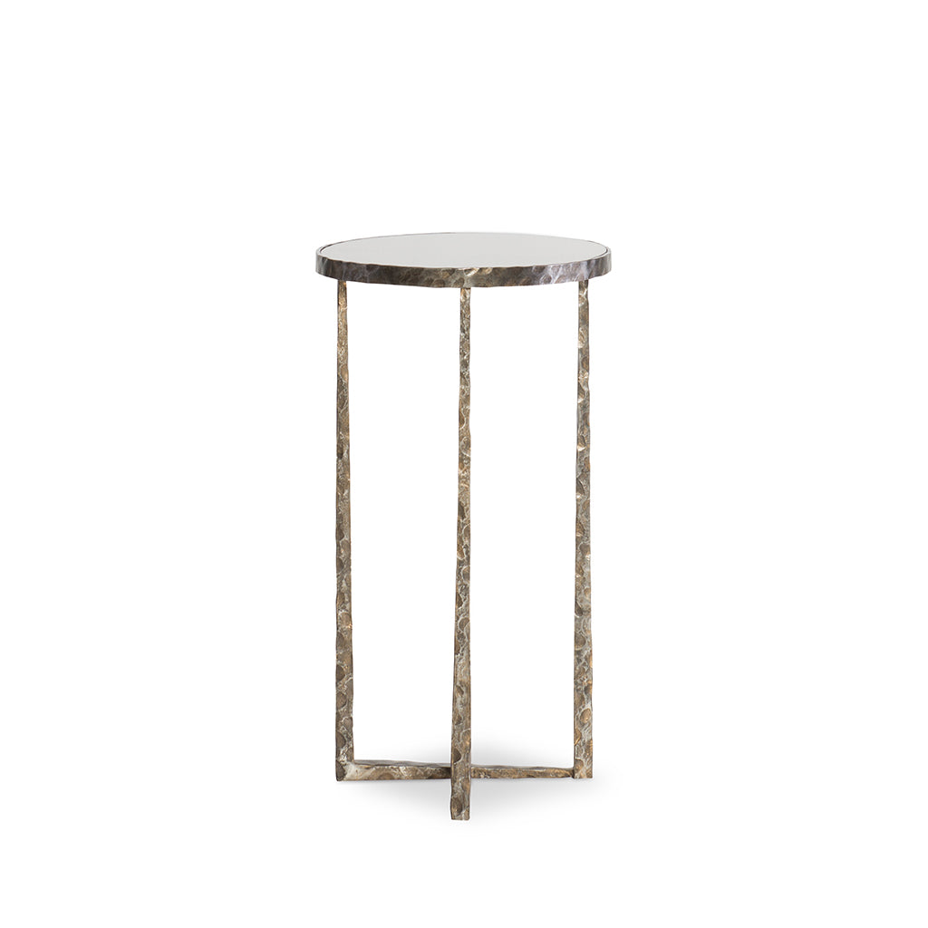 Century Furniture SF576, forged Steel Accent Table