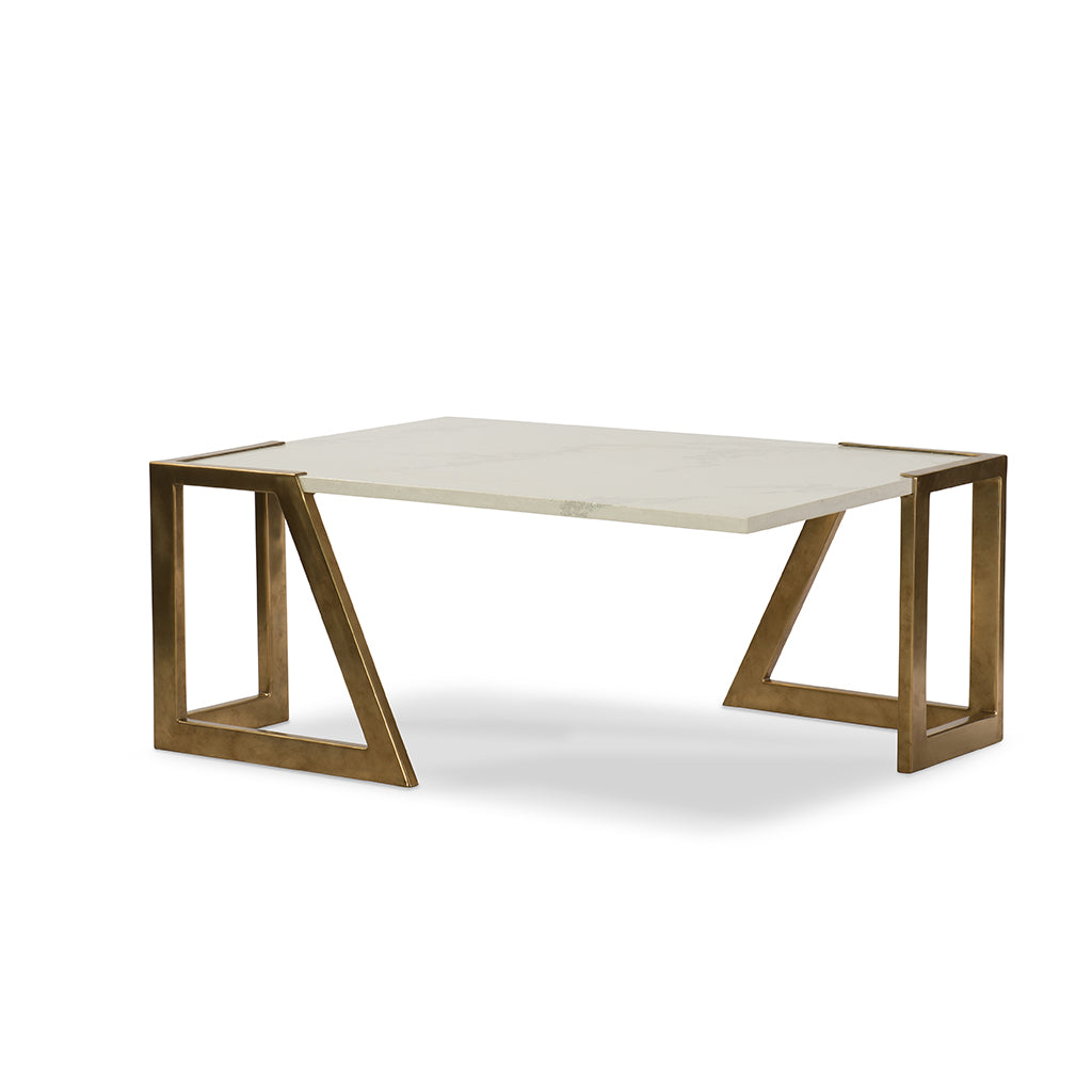 Century Furniture SF5764, cocktail Table Wedge