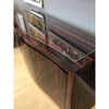 Art Deco, Macassar Ebony high Gloss Buffet, Sleek Modern Buffet, high end cabinet,